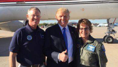 Donald Trump & Col. Rogers
