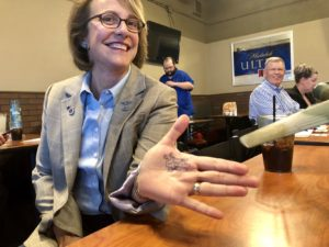 Wendy Rogers makes campaign stop in Maricopa